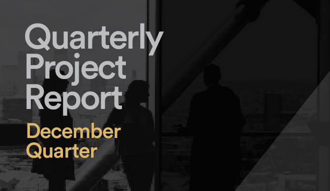 Quarterly Project Report