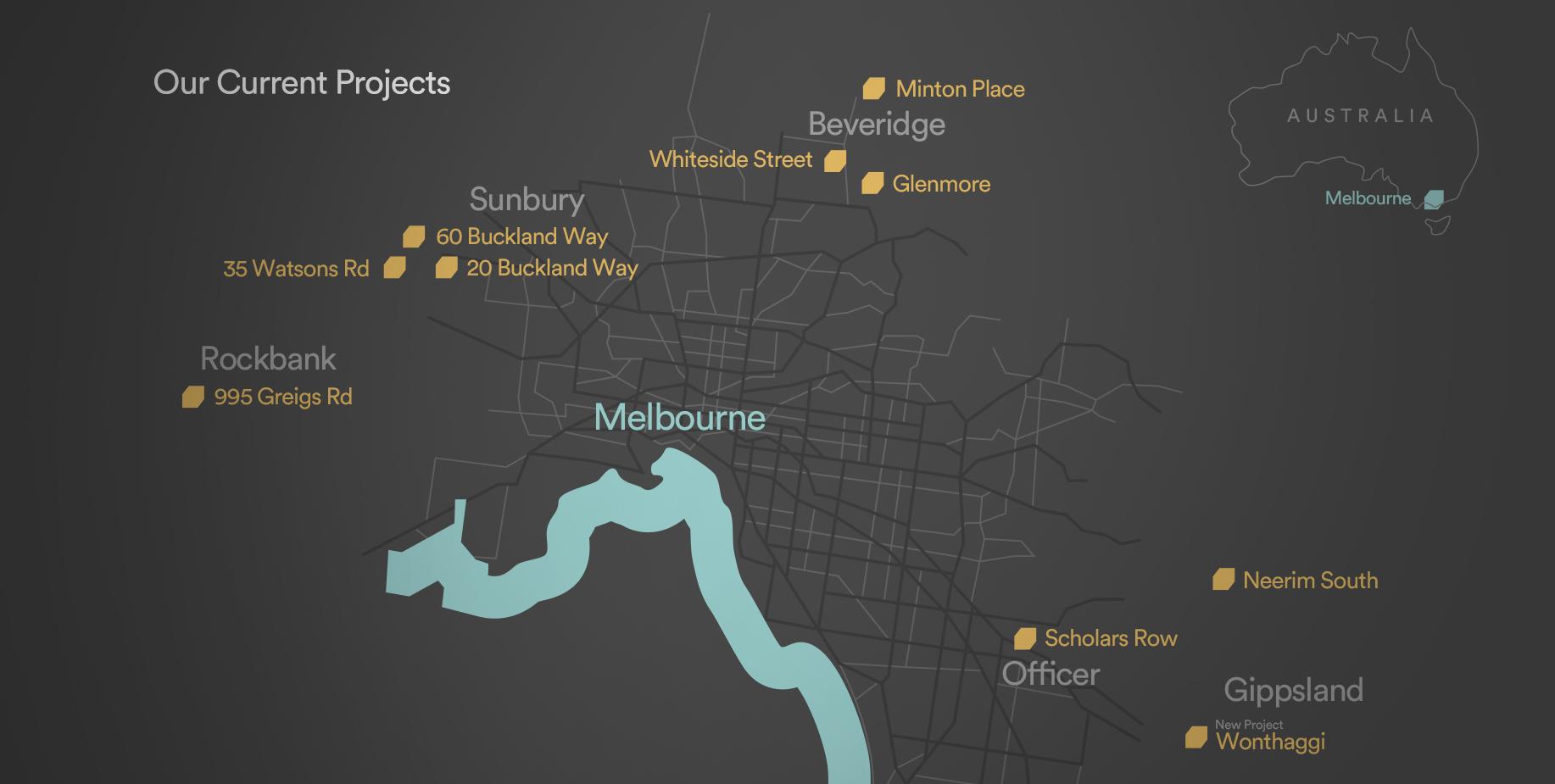 Lauders Capital Map